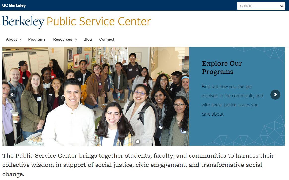 UC Berkeley Public Service Center
