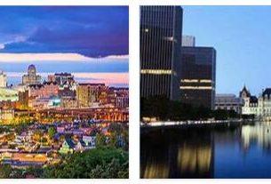 New Yorkand Albany